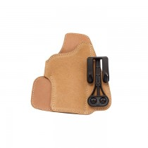 BLACKHAWK SUEDE LEATHER TUCKABLE HOLSTER LEFT HAND #04